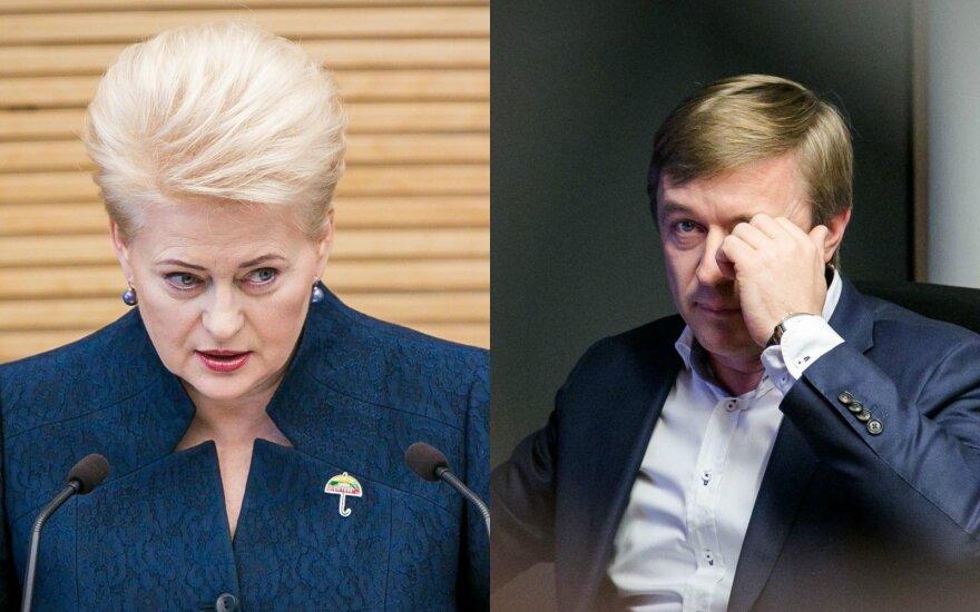 Президент Литвы: новое расследование – месть олигархов