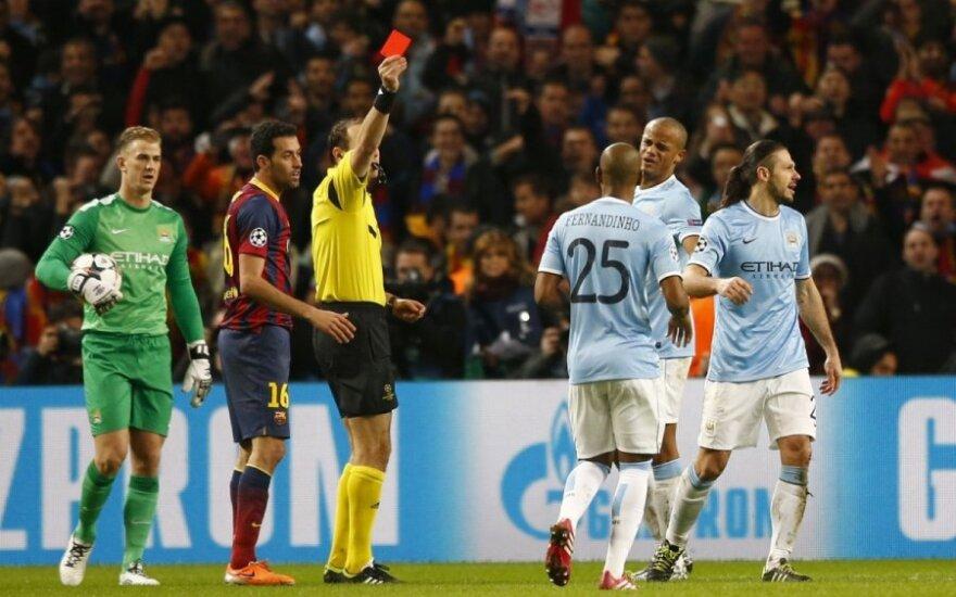 "UEFA Čempionų lyga: ""Man City"" – ""Barcelona"""
