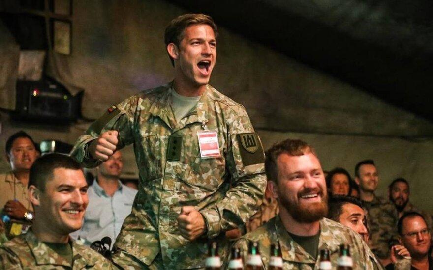 Литва празднует День армии