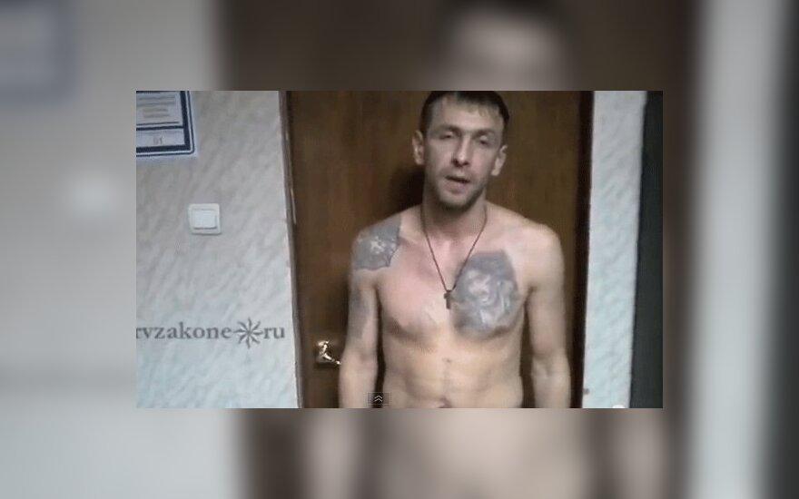 Белорусский вор в законе показал татуировки и рассказал о себе