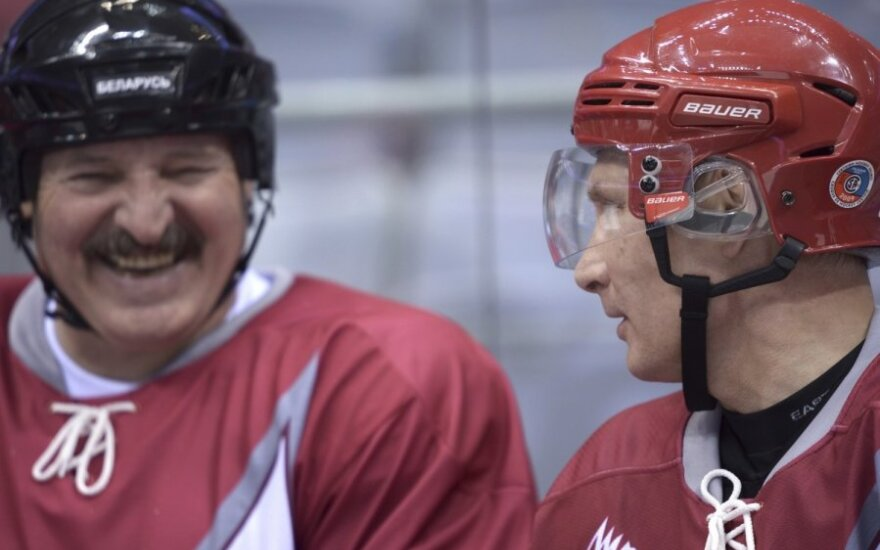 Aleksandras Lukašenka ir Vladimiras Putinas