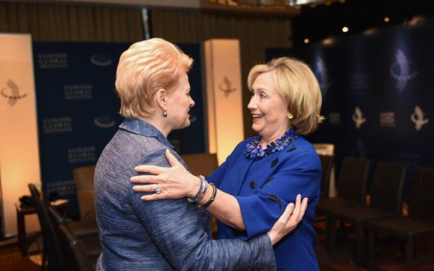 D. Grybauskaitės susitikimas su H. Clinton