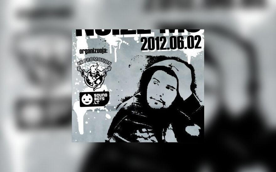 В Вильнюсе выступит российский рэпер Noize MC