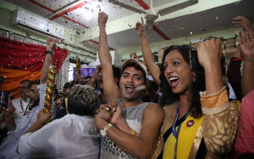IndijosLGBT bendruomenė švenčia istorinę pergalę
