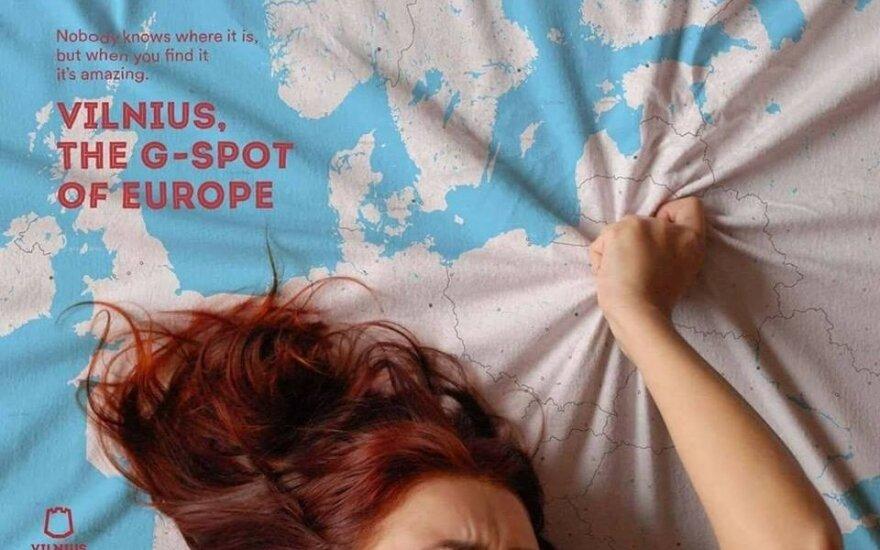 Go Vilnius reklamos ekskizas