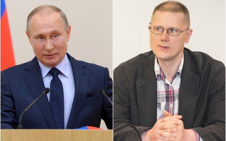 Vladimiras Putinas ir Darius Kiela