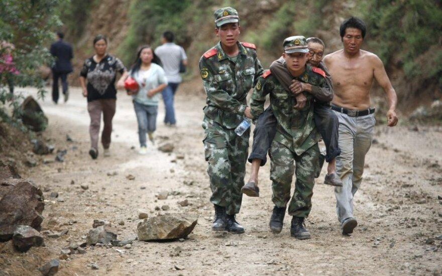 Число жертв землетрясения в Китае увеличилось до 589