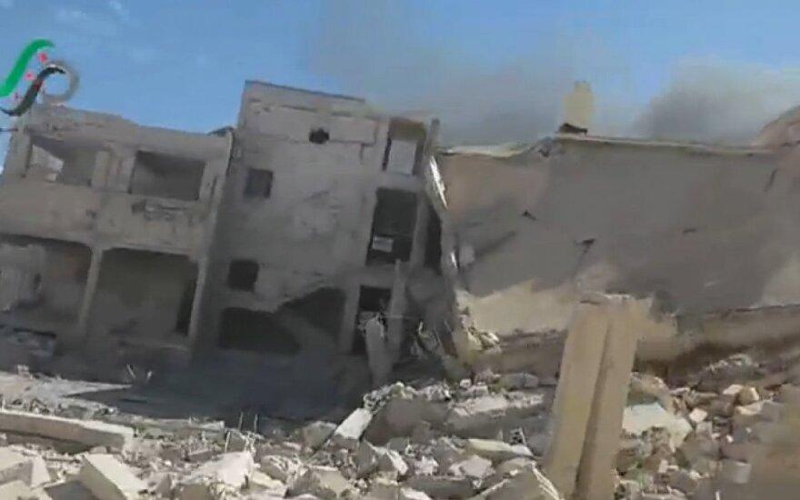 WSJ: российские самолеты бомбили позиции повстанцев