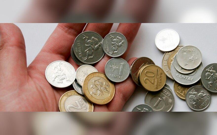 Почти каждый третий житель Литвы получает пенсию