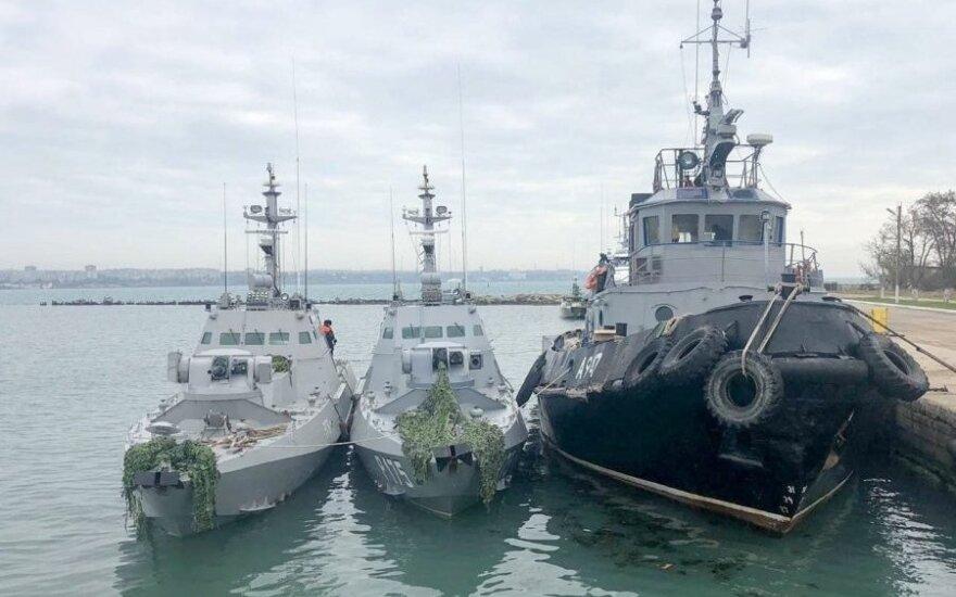 Суд арестовал 12 моряков с задержанных в Керченском проливе кораблей ВМС Украины