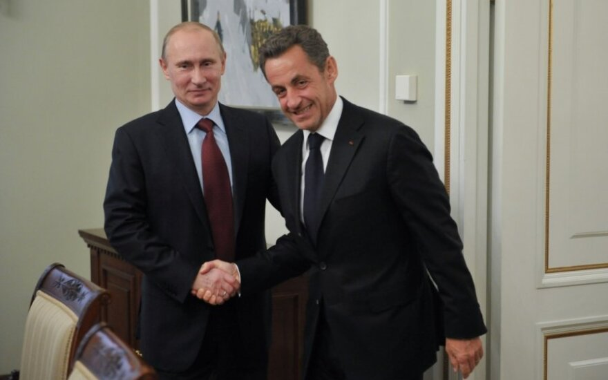 Vladimiras Putinas, Nicolas Sarkozy
