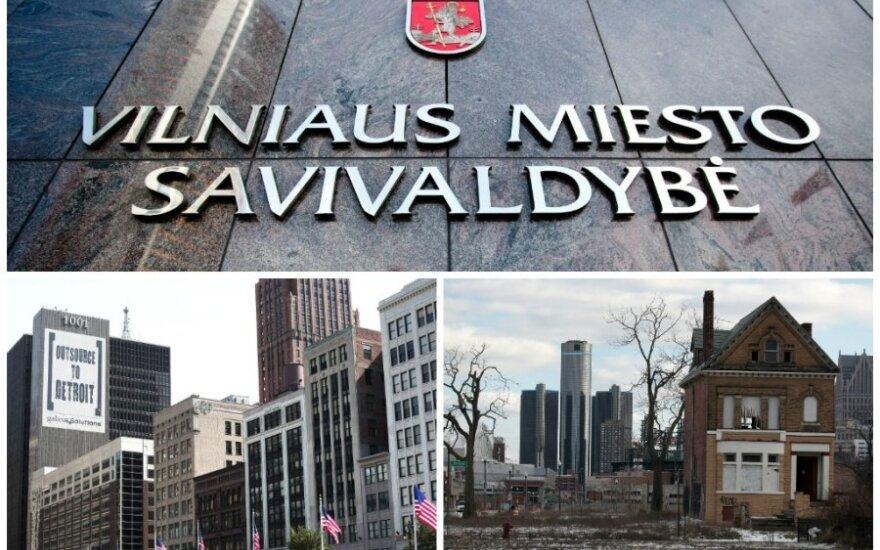 Vilnius ir Detroitas
