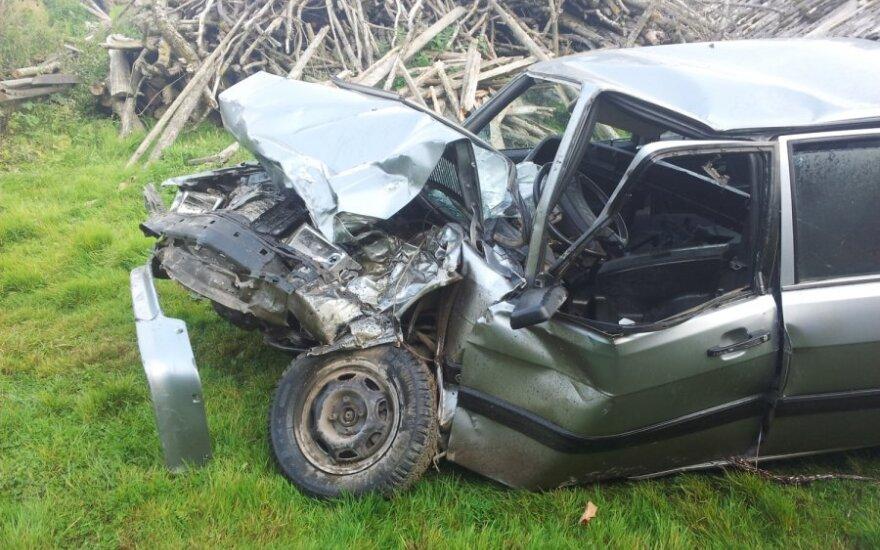 Неделя на дорогах Литвы: 72 ДТП, 6 человек погибли, 81 пострадал