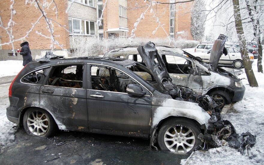 Каунас: водитель врезался в машину скорой помощи