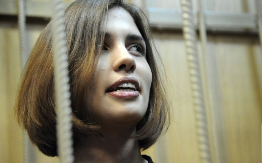 Участница Pussy Riot Надежда Толоконникова объявила голодовку