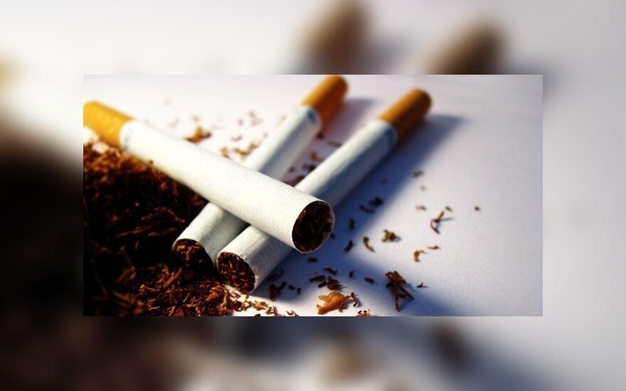 Белорус прятал контрафактные сигареты в порожней фуре