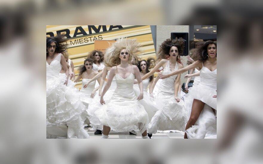 Экстремальное шоу вильнюсских невест