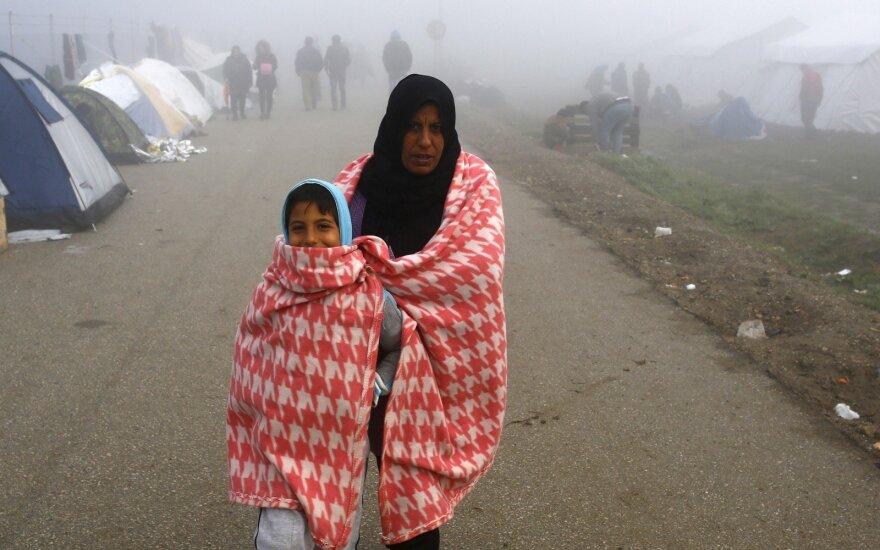 В Литву прибыли ещё семь мигрантов