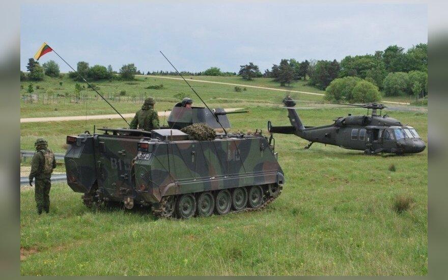 Litwa przed Rosją może się bronić 1 - 2 dni. Opinia połowy obywateli Litwy