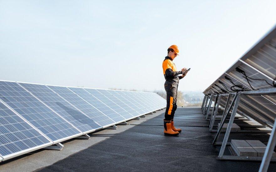 Saulės elektrinės