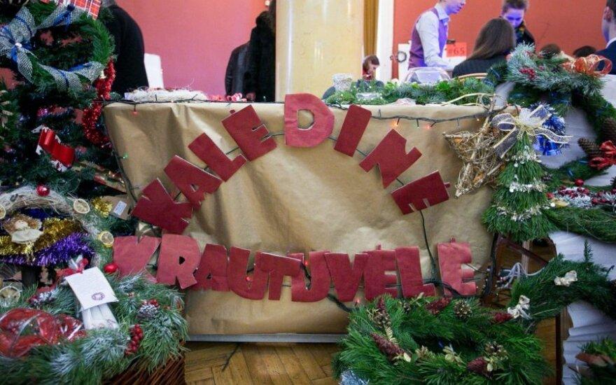 В вильнюсской Ратуше проходит рождественская ярмарка