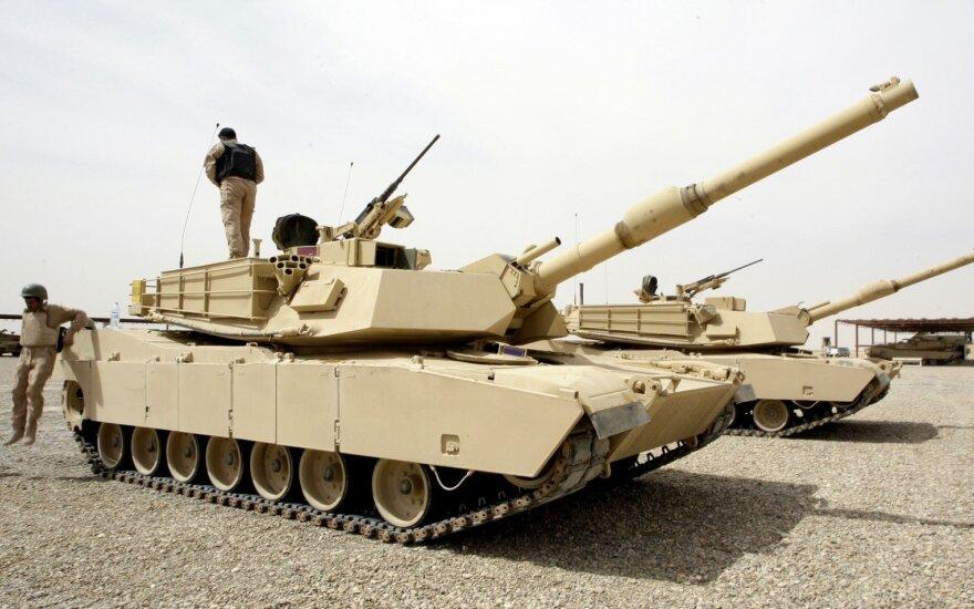 В Литву доставлены американские танки