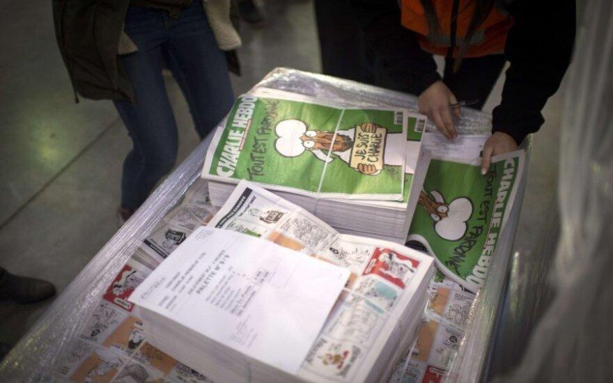 Тираж нового номера Charlie Hebdo составил 2,5 миллиона экземпляров