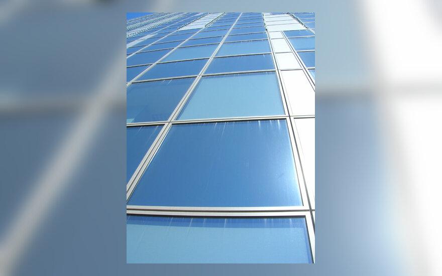 Langai, pastatas, dangoraižis