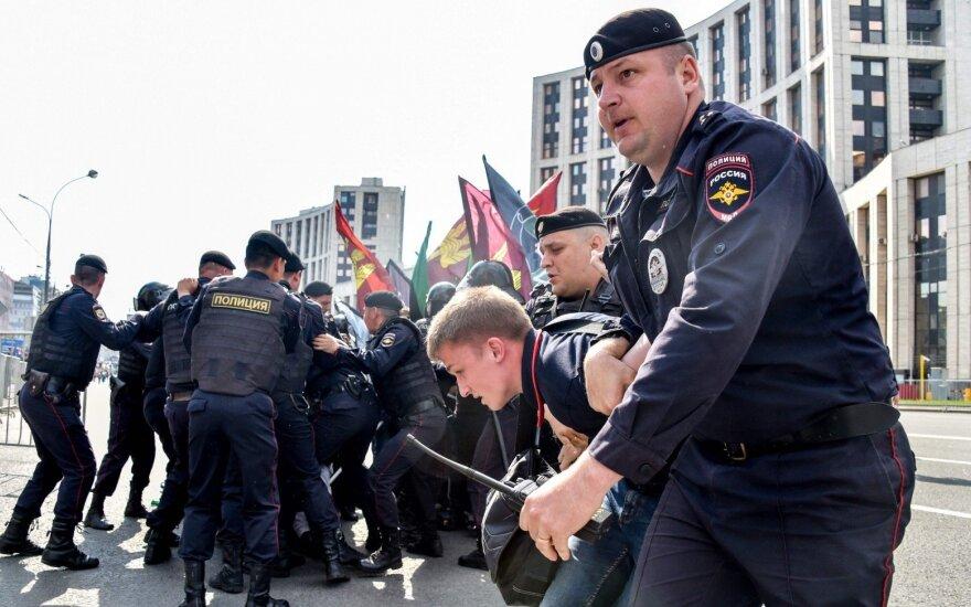 Protestas Maskvoje dėl interneto laisvės