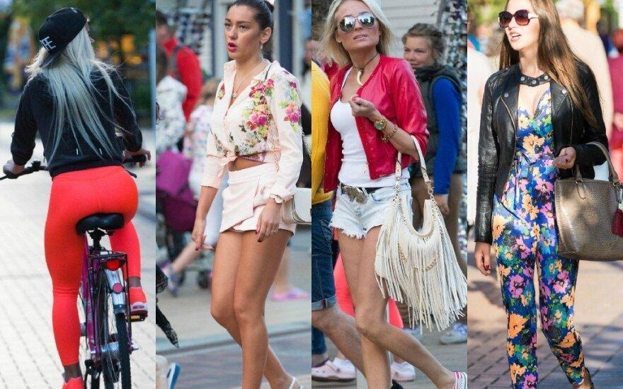 Красотки Паланги: юбки - короче, ногти - длиннее