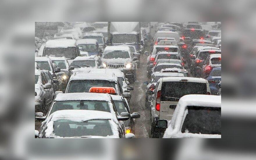Украинская трасса Киев-Житомир встала в 70-километровой пробке