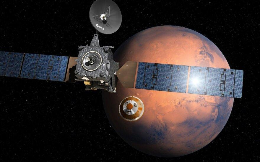ESA ir Rusijos misija į Marsą