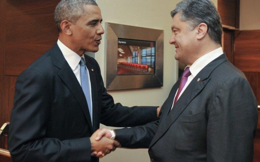Barackas Obama, Petro Porošenka