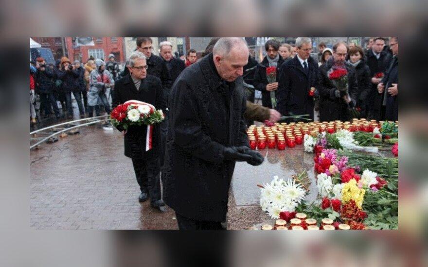 Посол Литвы в Москве почтил память жертв политических репрессий