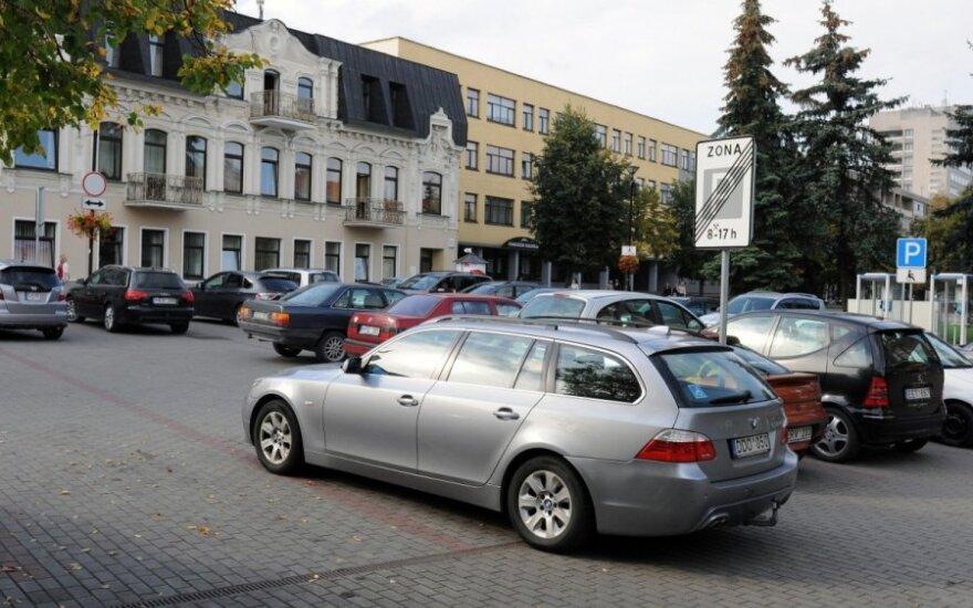 Stovėjimo aikstelė prie Panevėžio savivaldybės