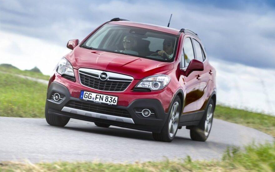 Opel знакомит со своим компактным кроссовером Mokka