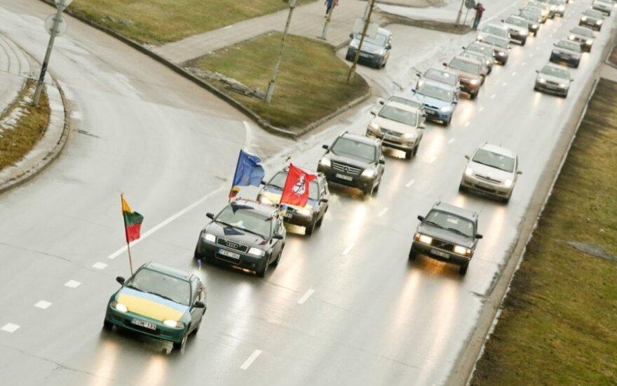 На улицах Вильнюса и Каунаса - литовский Автомайдан