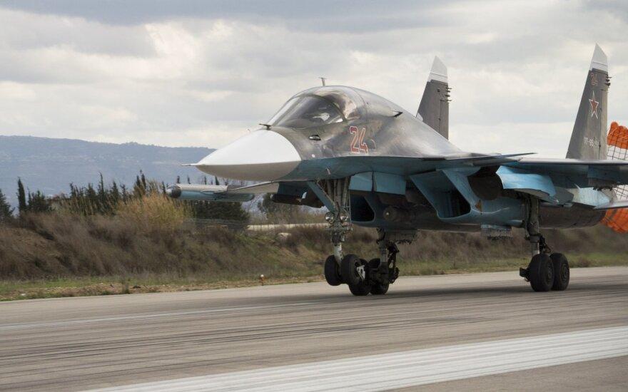 Reuters: Россия вывела из Сирии менее половины своих боевых самолетов