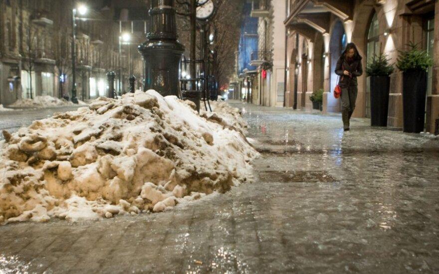 Погода: на Пасху ожидается мокрый снег