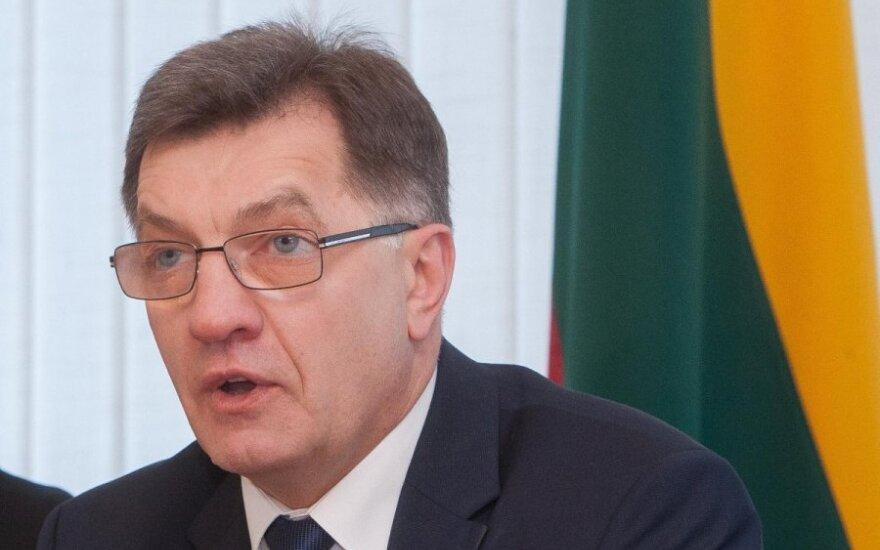 Буткявичюс примет участие во встрече премьеров государств Балтийского моря в России