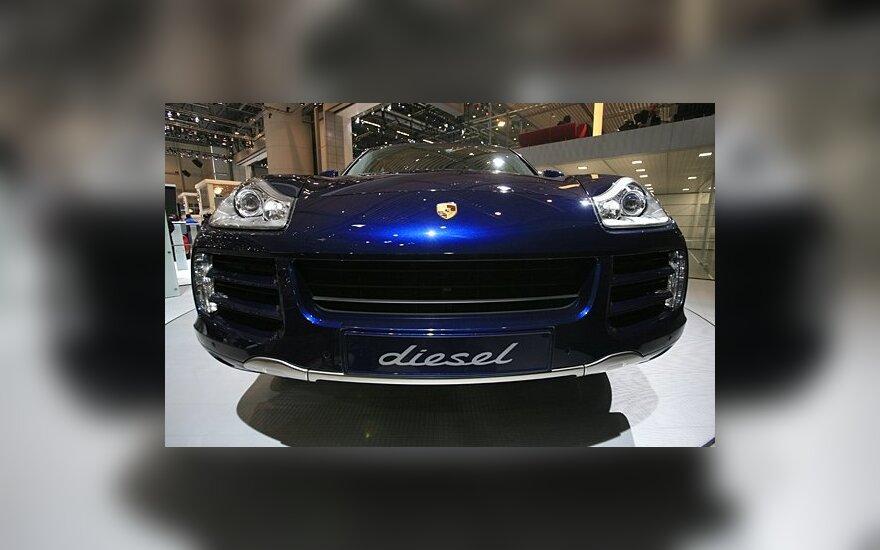 В Каунасе угнан Porsche, ущерб - 45 000 евро