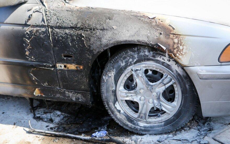Десять поджигателей автомобилей осуждены за теракт