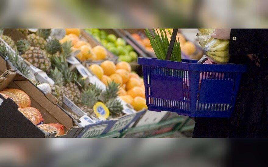 Цены на продукты в Литве растут быстрее, чем в ЕС
