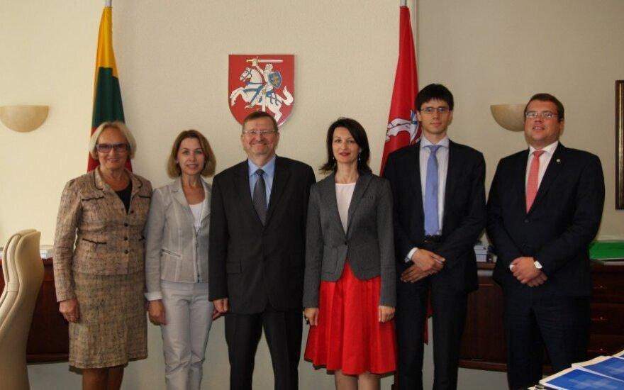 Juozas Bernatonis i Zarząd Wspólnoty Litwinów Świata