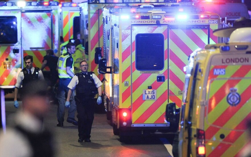 Išpuoliai Londone