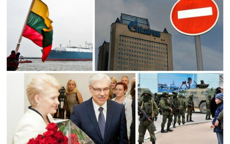 События года в Литве: терминал СПГ и переизбрание Грибаускайте