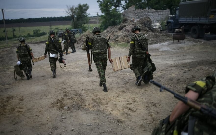 Украина: в Славянске обнаружили массовое захоронение