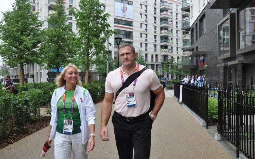 Nijolė Medvedeva ir Virgilijus Alekna