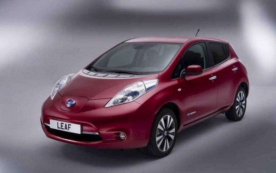 В Норвегии скупают электрокары Nissan Leaf