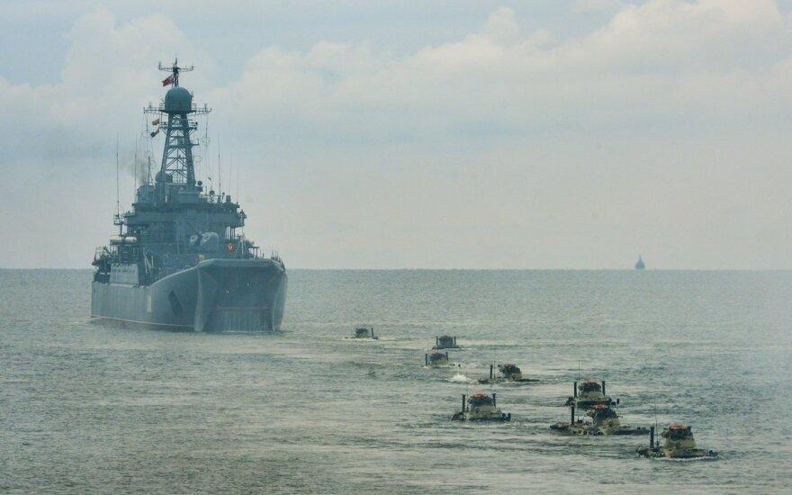 Вблизи латвийской границы замечены российские военные корабли